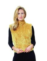 Paula Lishman Hand Knit Beaver Jockey Vest