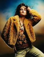 Paula Lishman Hand Knit Beaver Geisha Jacket