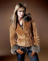 Paula Lishman Hand Knit Beaver Cornflower Jacket