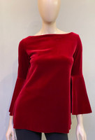 Chiara Boni La Petite Robe Garnet  Natty Velvet Top