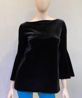 Chiara Boni La Petite Robe Nero  Natty Velvet Top