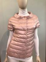 Herno Rosa Chiaro Short Sleeve Puffer Jacket