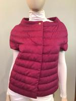 Herno Fuxia Short Sleeve Puffer Jacket