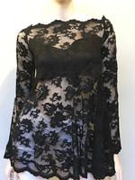 Olvi's Black Lace Top