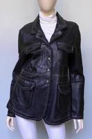 Jakett Meryl Vintage Leather Jacket - Black