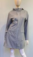 Rains Waterproof Hooded Jacket - Stone