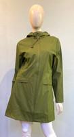 Rains Waterproof Hooded Jacket - Sage