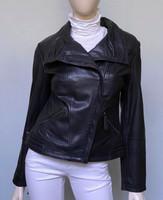 HiSO Leather Jacket - Black