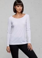 Anatomie Naya Long Sleeve Top - White