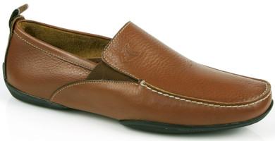 Michael Toschi Driving Shoes Onda Brown