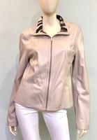 Alice Arthur Sand Leather Jacket