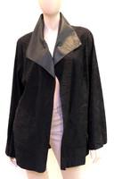 Alice Arthur Black Long flow Coat