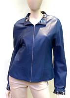 Alice Arthur Royal Blue Leather Jacket