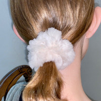 Paula Lishman Beaver Fur Scrunchie - C1