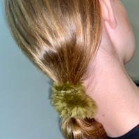 Paula Lishman Beaver Fur Scrunchie - F1