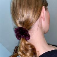 Paula Lishman Beaver Fur Scrunchie - I1