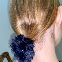Paula Lishman Beaver Fur Scrunchie - J1