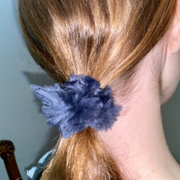 Paula Lishman Beaver Fur Scrunchie - N1