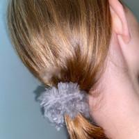 Paula Lishman Beaver Fur Scrunchie - O1