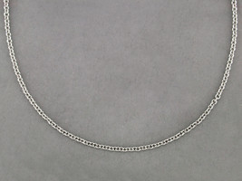 Ruth Taubman 14K White Gold Cable Chain Necklace