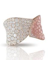 Pasquale Bruni 18k Rose Gold Lakshmi Bracelet with Pink Chalcedony, Moonstone and Diamonds
