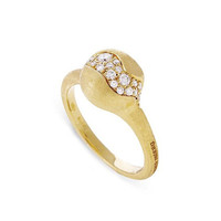Marco Bicego Africa 18K Yellow Gold and Diamond Ring
