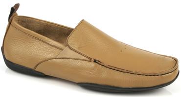 Michael Toschi Driving Shoes Onda Camel Calf
