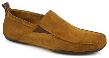 Michael Toschi Driving Shoes Onda Cinnamon Suede