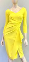 Chiara Boni La Petite Robe Lemon Kloty Dress