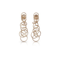 Buccellati Hawaii Pendant Earrings in 18k Pink Gold
