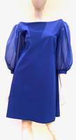 Chiara Boni La Petite Robe Dark Royal Skai Illusion Dress