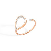 Pomellato 18K Rose Gold and Diamond Fantina Bracelet