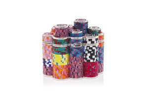 Judith Leiber Couture Coins Poker Chips