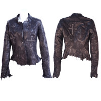 Kippy's Dorian Multiple Cross Stitch Raw Edge Jacket