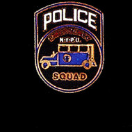 NYPD POLICE SQUAD LAPEL PIN - PN-2006
