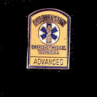 EMT ADVANCED LAPEL PIN - PN-2307