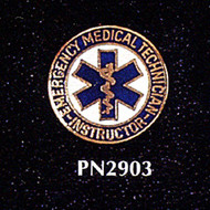 EMT INSTRUCTOR LAPEL PIN - PN-2903