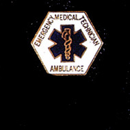 EMT AMBULANCE LAPEL PIN - PN-3004