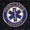AMBULANCE SERVICE LAPEL PIN - PN-3202
