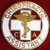 CHIROPRACTIC ASSISTANT EMBLEM PIN - GPE-1070