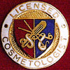 LICENSED COSMETOLOGIST EMBLEM PIN - GPE-1057