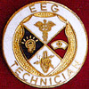 EEG TECHNICIAN EMBLEM PIN - GPE-1037