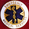 EMERGENCY MEDICAL SERVICES EMBLEM PIN - GPE-1078