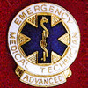 ADVANCED EMT EMBLEM PIN - GPE-1088