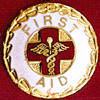 FIRST AID EMBLEM PIN - GPE-2020
