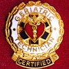 CERTIFIED GERIATRIC TECHNICIAN EMBLEM PIN - GPE-3044