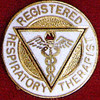 REGISTERED RESPIRATORY THERAPIST EMBLEM PIN - GPE-1002