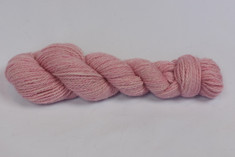 Sweetheart pink Icelandic fiber blended with the softest white Alpaca.