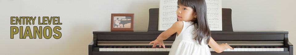 Entry Level Digital Pianos from SheargoldMusic.co.uk