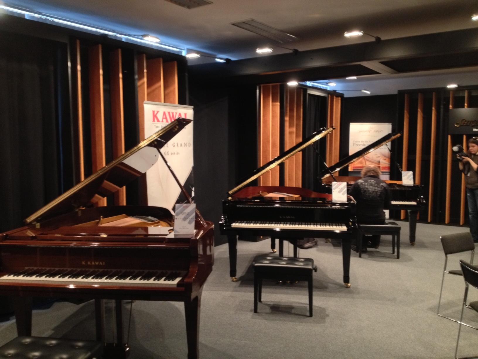 Kawai GX grand pianos